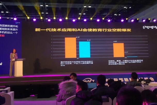 弘成教育董事长黄波:人工智能打造智慧教育新生态