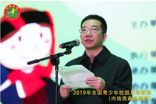 教育部民族教育司司长朱小杰